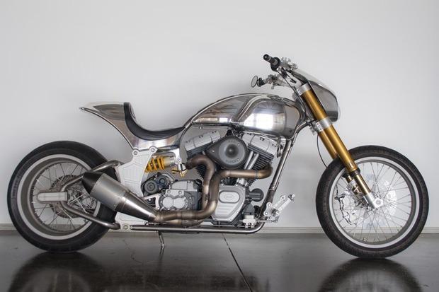 Киану Ривз основал компанию по производству кастомных мотоциклов на базе Harley-Davidson. Изображение № 4.