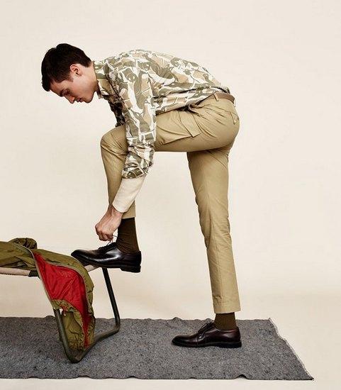 Марка Gant Rugger выпустила второй осенний лукбук. Изображение № 2.