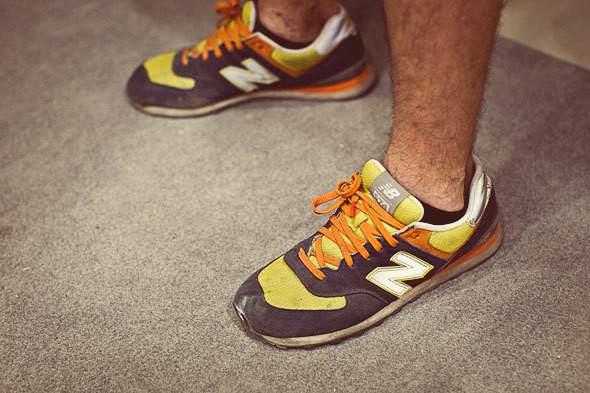 Фоторепортаж: 50 мужских кроссовок на выставке Faces & Laces. Изображение № 7.