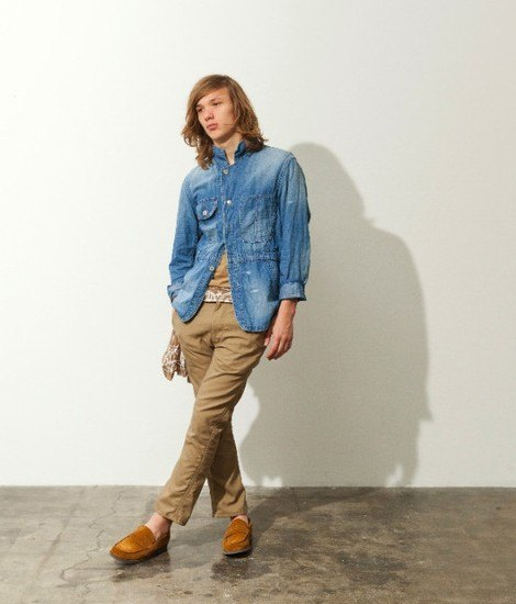 Японская марка Nonnative представила весеннюю коллекцию одежды. Изображение № 12.