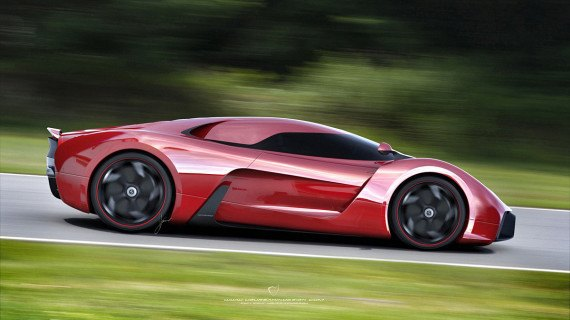 Представлен новый концепт суперкара на базе Ferrari 458 Italia. Изображение № 4.