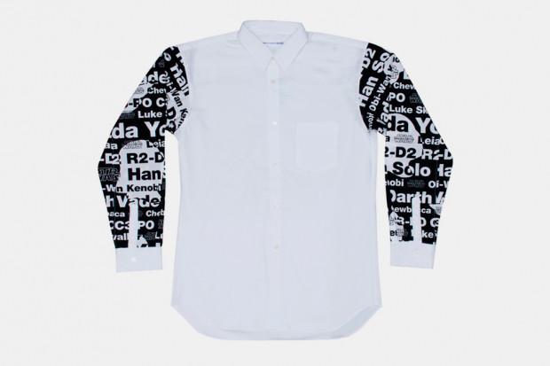 Марка Comme des Garcons Shirt выпустила коллекцию одежды по мотивам фильма «Звездные войны». Изображение № 5.
