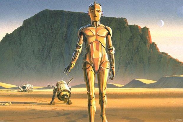 В сети появился оригинальный концепт-арт «Звёздных войн». Изображение № 1.