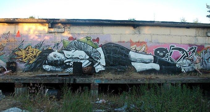 Умер уличный художник Паша 183. Изображение № 17.