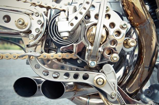 Мотоцикл немецкой мастерской Thunderbike победил в чемпионате мира по кастомайзингу. Изображение № 9.
