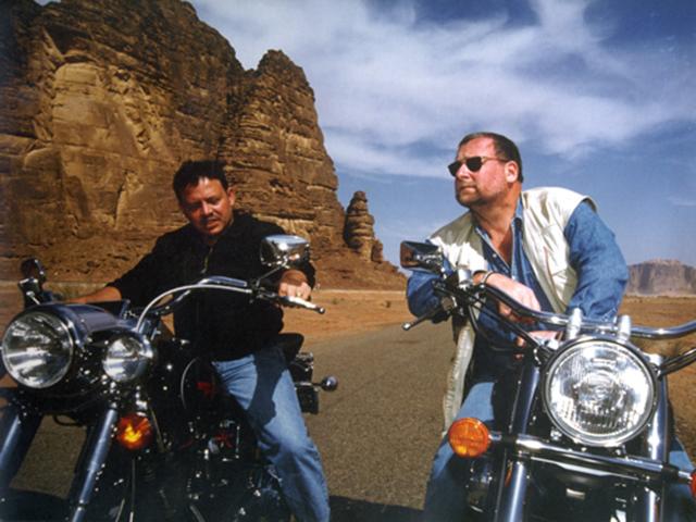Король Иордании Абдалла II проедет по России на мотоцикле . Изображение № 1.