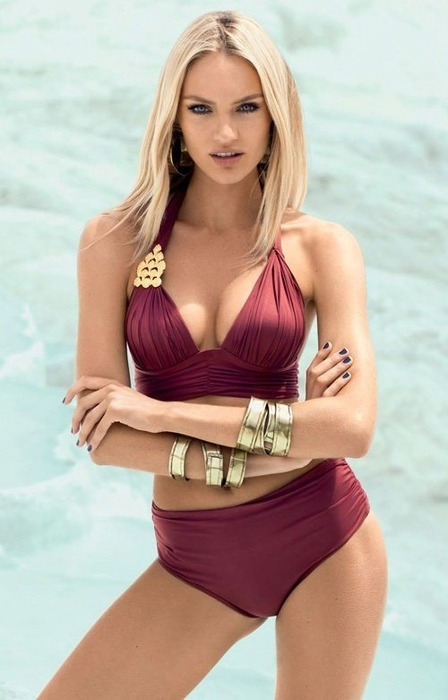 Модель Кэндис Свэйнпоул снялась в рекламе купальников Agua De Coco. Изображение № 8.