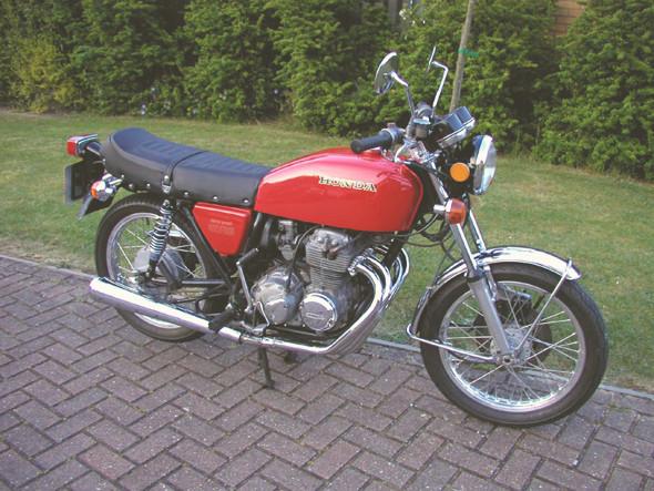 Honda CB400SF. Изображение № 21.