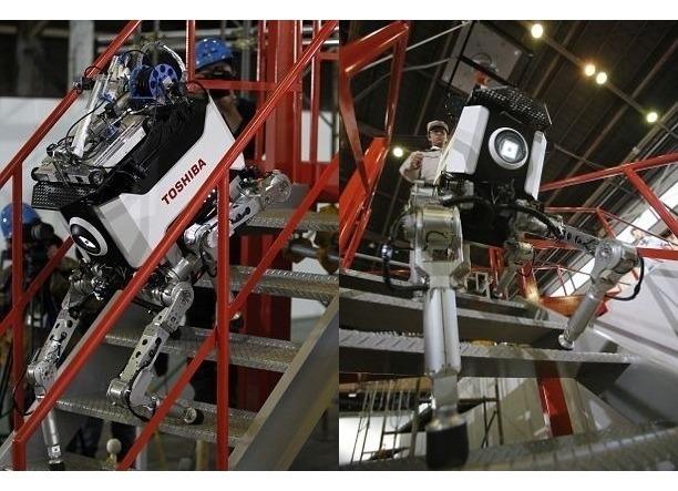 Японцы создали робота, выдерживающего радиацию. Изображение № 5.