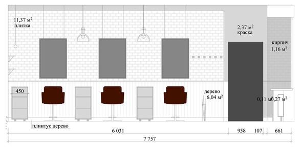 Схема помещения студии. Изображение № 7.