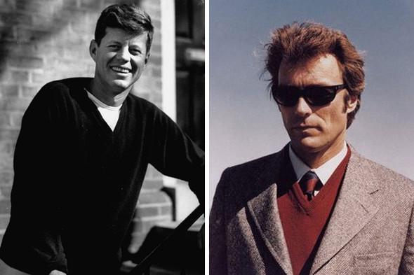 Джон Кеннеди, 1954 год, и Клинт Иствуд в фильме «Грязный Гарри» . Изображение №26.