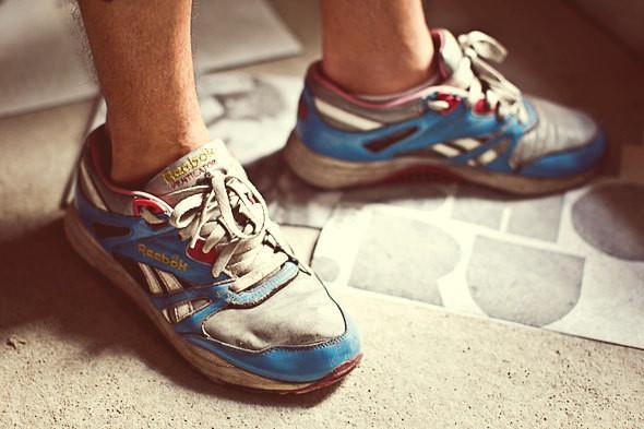 Фоторепортаж: 50 мужских кроссовок на выставке Faces & Laces. Изображение № 5.