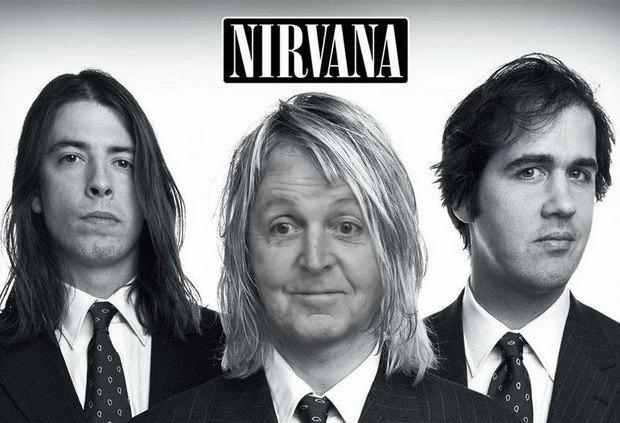 Пол Маккартни станет фронтменом Nirvana. Изображение № 1.