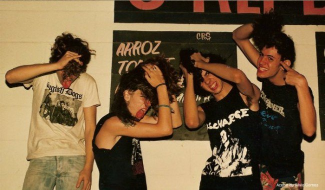 В сети появились архивные фотографии Sepultura. Изображение № 5.