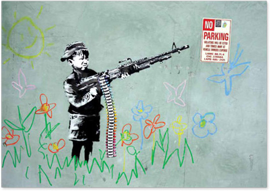 Новая книга о граффити-художнике Бэнкси. Изображение № 5.