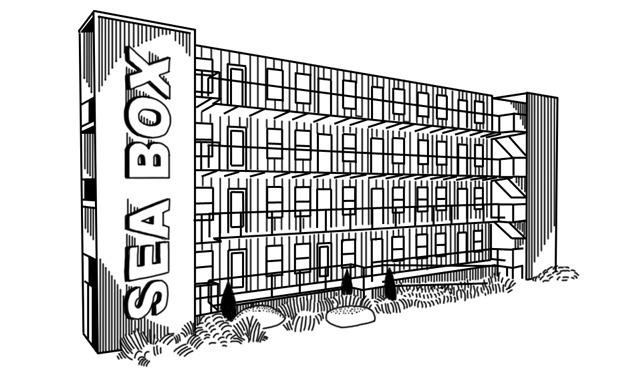 На коробке: Корабельные контейнеры как жилье на случай катастрофы. Изображение № 11.