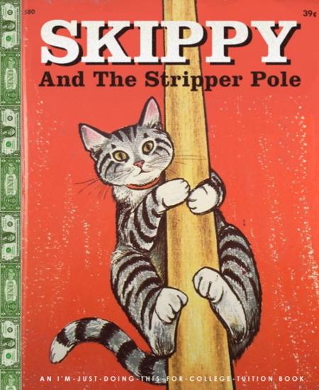 Иллюстратор Боб Стэйк создал пародии на обложки старых детских книжек   . Изображение № 27.