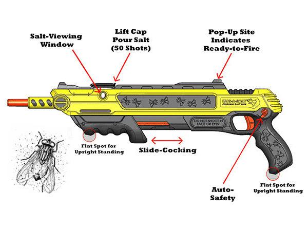 Устройство солевого ружья Bug-A-Salt. Изображение № 3.