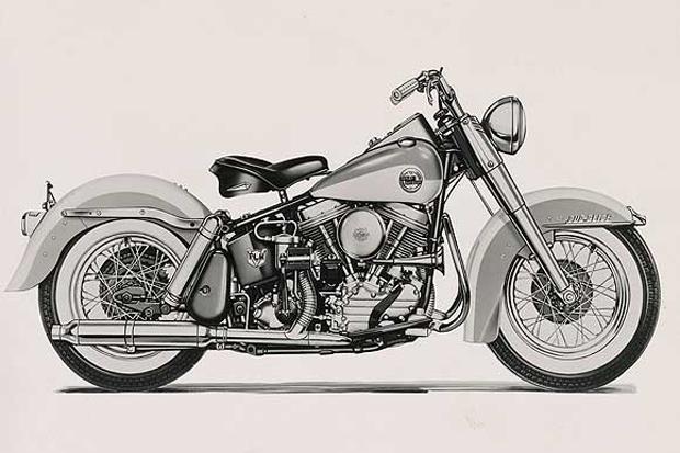 Мотоцикл Harley Davidson FL Duo-Glide, 1958 год. . Изображение № 10.