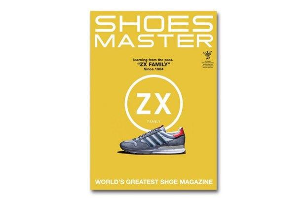 Вышел спецвыпуск журнала Shoes Master, посвящённый 30-летию линейки Adidas ZX. Изображение № 1.