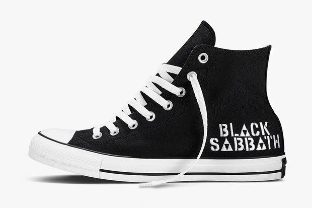 Марка Converse и группа Black Sabbath выпустили совместную коллекцию обуви. Изображение № 2.