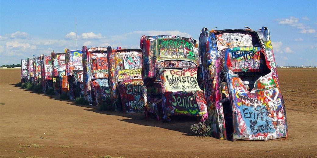 «Ранчо Кадиллак»: Как автомобильное кладбище превратилось в легенду. Изображение № 1.