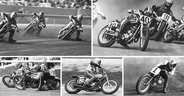 История и особенности мотоциклов для гонок по грязевому овалу —флэт-трекеров. Изображение № 2.