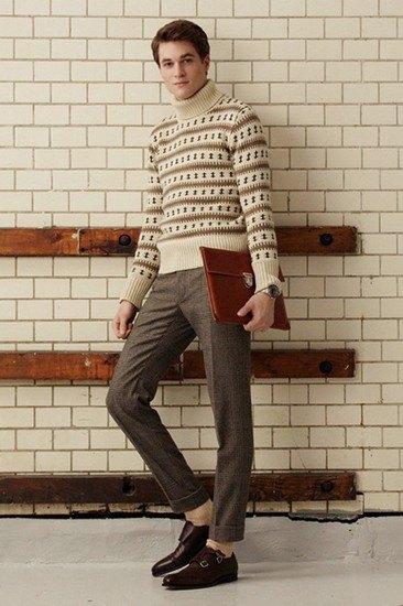 Марка Gant Rugger опубликовала лукбук осенней коллекции одежды. Изображение № 2.