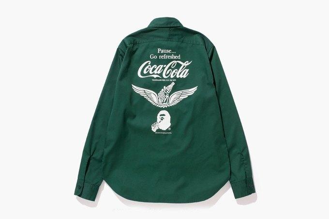 Марка Bape представила коллаборацию с Coca-Cola. Изображение № 4.