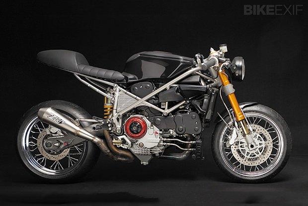 Мастерская Venier Custom собрала новый байк Ducati 999S Testastretta. Изображение № 2.