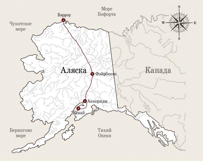 Вершина мира: Как я провел 26 дней на Аляске. Изображение № 2.