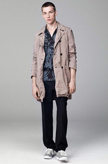 Японская марка Attachment выпустила лукбук весенней коллекции одежды. Изображение № 8.
