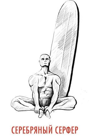 Сила воли: Саб-Зиро, Тор, Хэллбой и Роршах учат правильной зарядке. Изображение № 13.