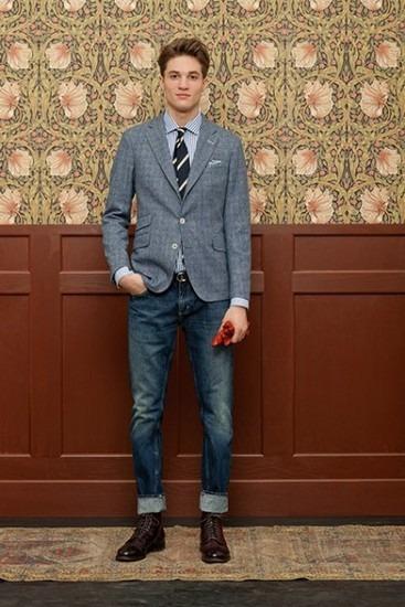 Марка Gant Rugger выпустила лукбук новой коллекции одежды своей линейки Holiday. Изображение № 8.