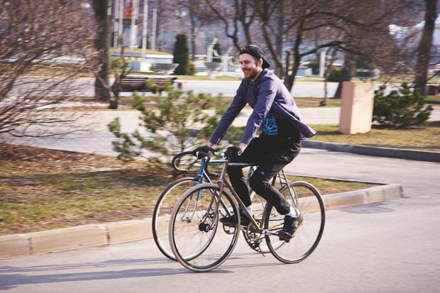 Детали: Фоторепортаж с открытия велосезона Fixed Gear Moscow. Изображение №47.