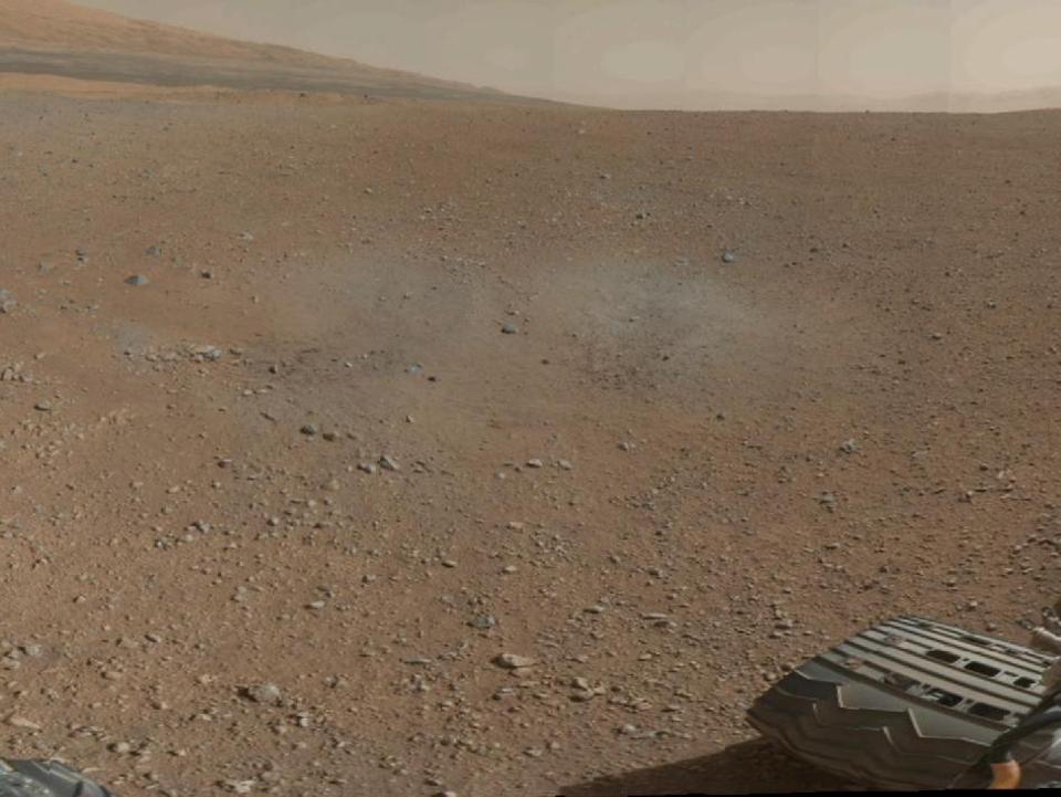 10 фотографий с марсохода Curiosity и поверхности Красной планеты. Изображение № 6.