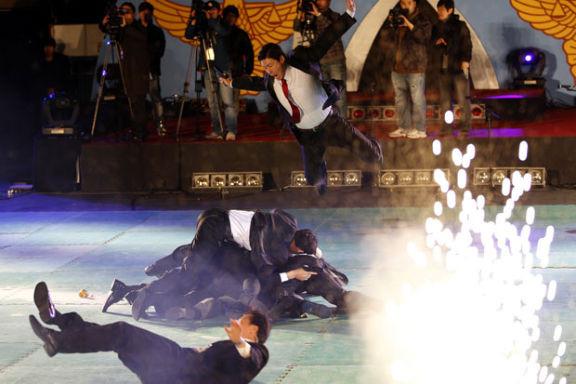 Южнокорейские солдаты борются с терроризмом приемами из арсенала Человека-паука. Изображение № 3.