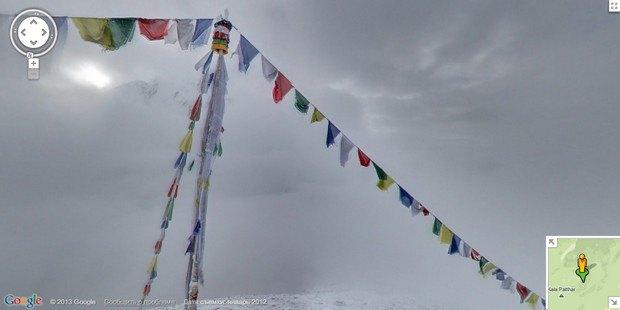 При помощи Google Street View теперь можно побывать на Килиманджаро, Эвересте и других вершинах. Изображение № 3.