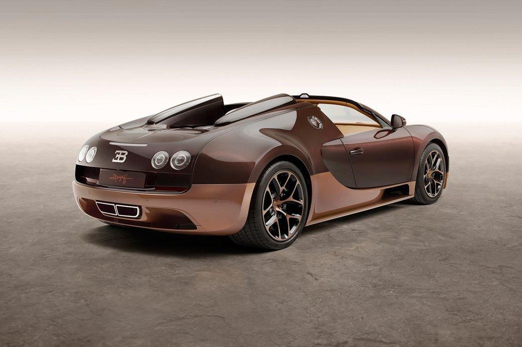 Бугатти показала новый Veyron Grand Sport Vitesse, посвященный брату основателя компании. Изображение № 4.