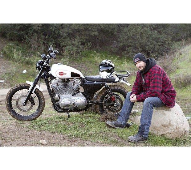 Мастерская Burly Brand представила скрэмблер на основе Harley-Davidson Sportster. Изображение № 20.