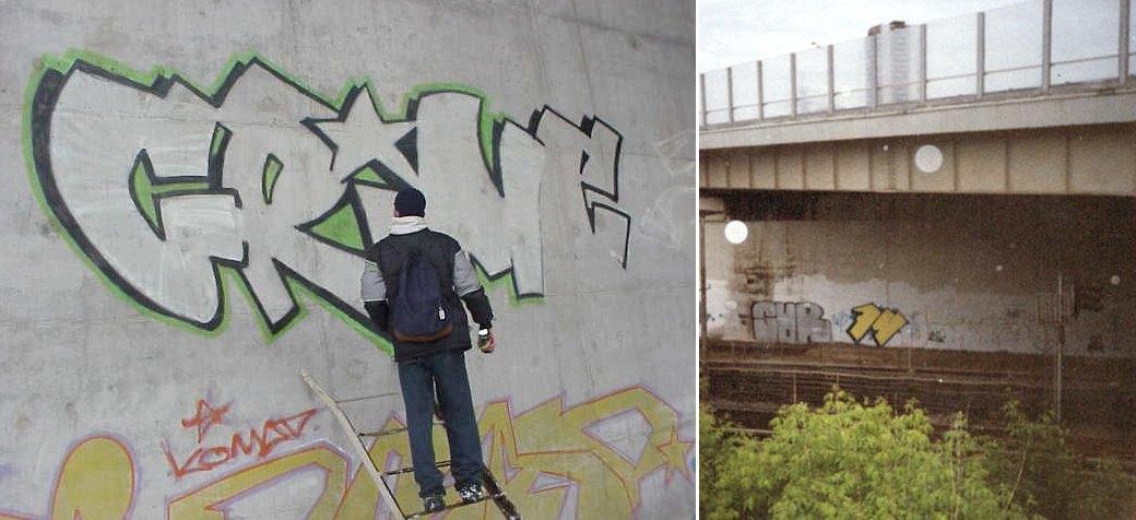 Стена славы: Граффити-карта Москвы. Изображение № 26.