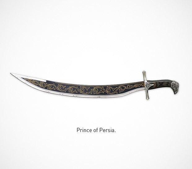 Итальянский дизайнер представил коллекцию ножей знаменитых персонажей. Изображение № 48.