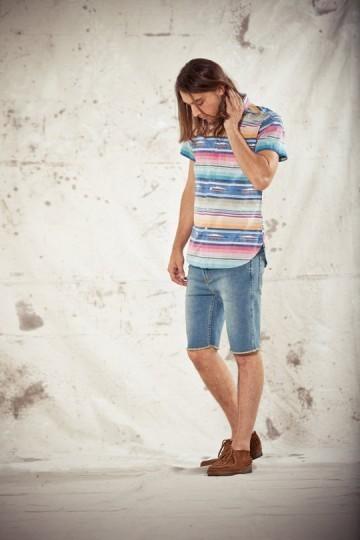 Марка Obey выпустила лукбук весенней коллекции одежды. Изображение № 9.