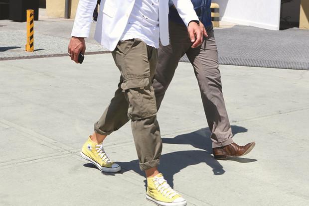 Детали: Репортаж с выставки мужской одежды Pitti Uomo. День первый. Изображение № 8.