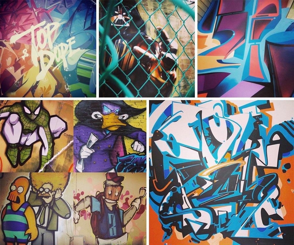 Что публикуют в своих Instagram российские граффити-художники. Часть вторая. Изображение № 5.