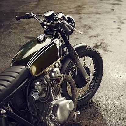 Английская мастерская Untitled Motorcycles представила каферейсер Honda CB350. Изображение № 5.