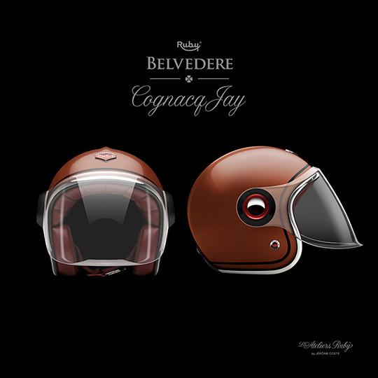 Коллекция мотоциклетных шлемов марки Les Ateliers Ruby. Изображение № 2.