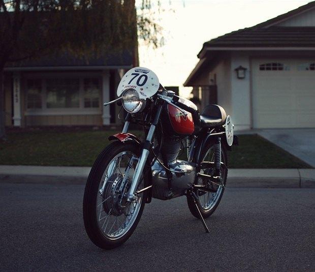 Мастерская Vintage Italian Restoration представила мотоцикл Gilera 175 Milano Taranto. Изображение № 8.