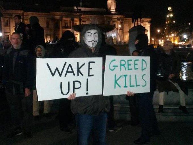 Anonymous провели в Лондоне акцию против глобальной слежки. Изображение № 1.