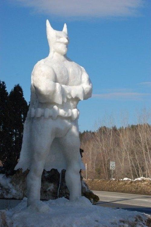 Что ты лепишь: Альтернативные снеговики со всего мира. Изображение № 13.